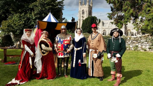 Age of Chivalry group photo Plympton Priory and St Mary's