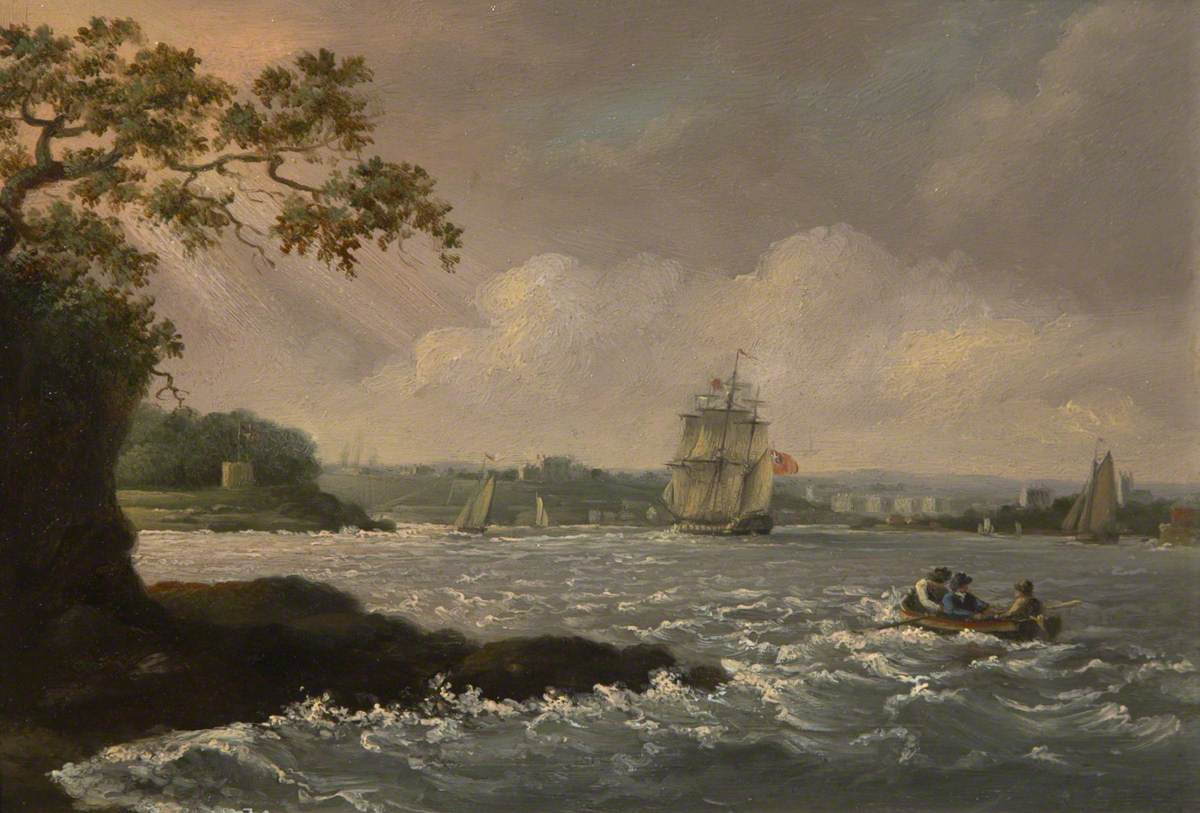 Mount Edgcumbe and Hamoaze by Nicholas Condy (1793–1857) © The Box, Plymouth